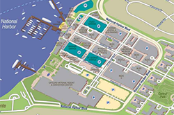 Hotel Parking Map